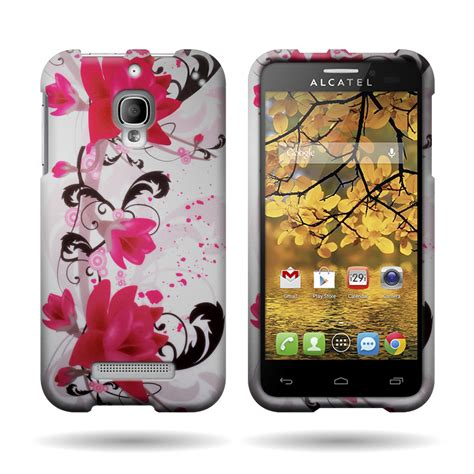 New Hardcase Alcatel Onetouch Flash Plus Polycarbonate Free Sp slim shock resistant design phone for alcatel one touch fierce 7024w ebay