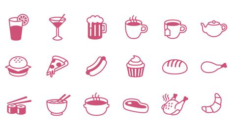 Cute Houses by List Of Free Food Icons For Restaurant Themed Uis Designmodo