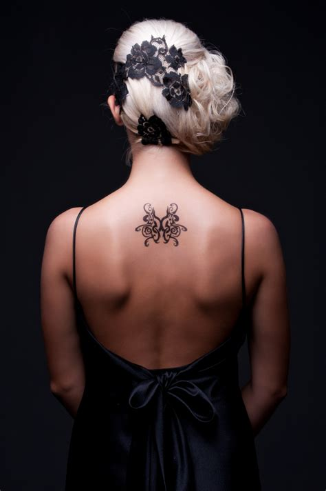 tattoo pictures for womens back back tattoos for women girl gloss