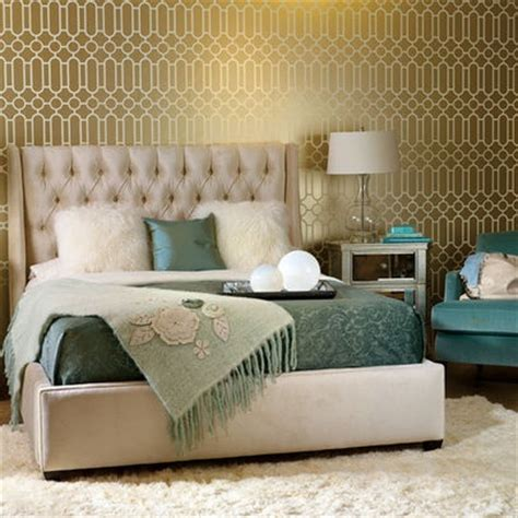 Teal And Gold Bedroom by Gold And Teal Bedroom Design Rooms And Spaces
