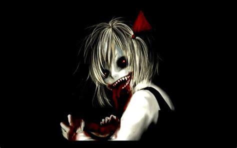 anime girl creepy wallpaper creepy anime girl anime pinterest girls anime and