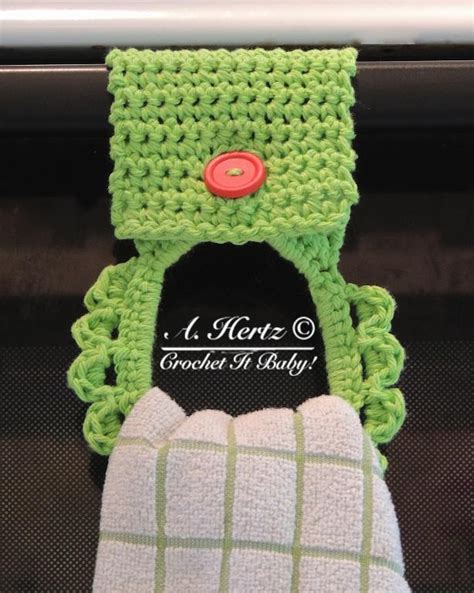 pattern for towel holder crochet towel holder pattern by crochetitbaby craftsy