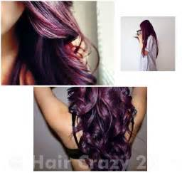 burgundy purple hair color burgundy plum hair dye
