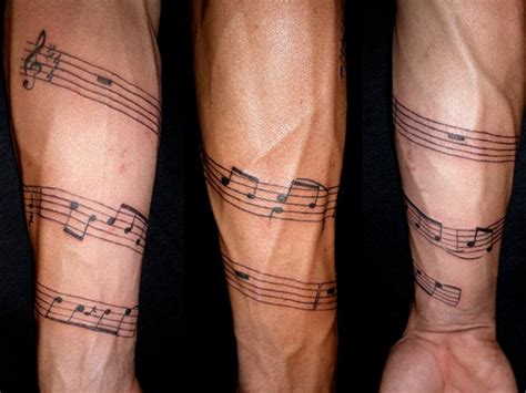music note tattoo for men 26 charming tattoos for guys slodive