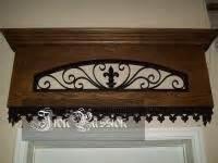 Custom Wood Cornice Custom Wood And Iron Cornice For The Home