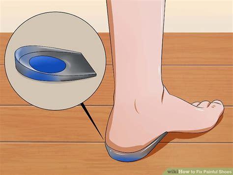 Insole Gel Pad Sepatu Bantalan Kaki Gel Silicone Alas Tumit the best ways to fix shoes wikihow