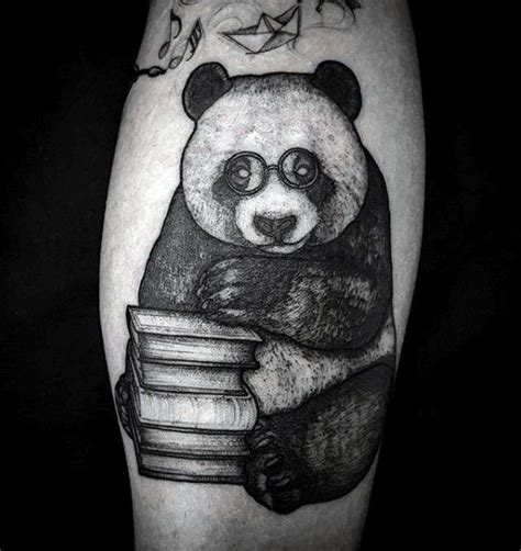 tattoo animal stack 100 panda bear tattoo designs for men manly ink ideas