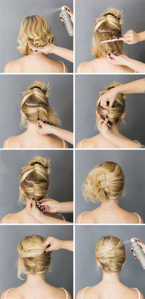 easy diy bridal hairstyles hr 3 pinterest best 25 short hair updo ideas on pinterest easy hair