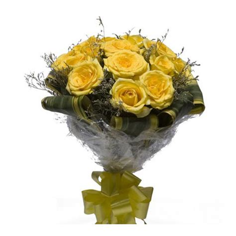 buy bouquet yellow roses bouquet buy gifts