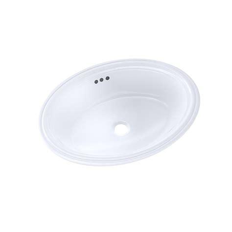 toto undermount bathroom sink toto dartmouth 19 in undermount bathroom sink in cotton