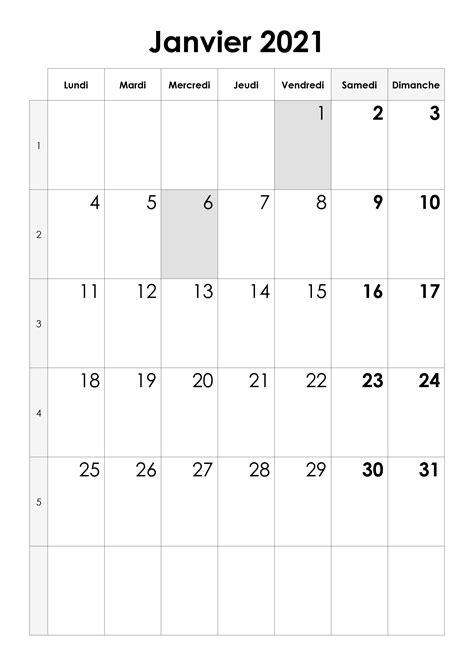 calendrier janvier  calendriersu
