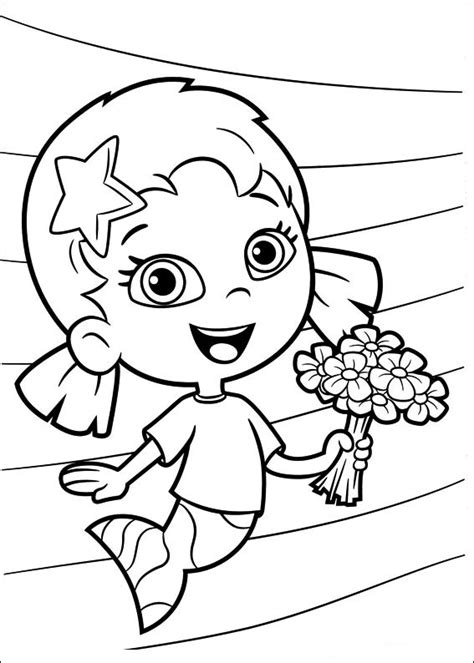 bubble guppies coloring pages coloring pages