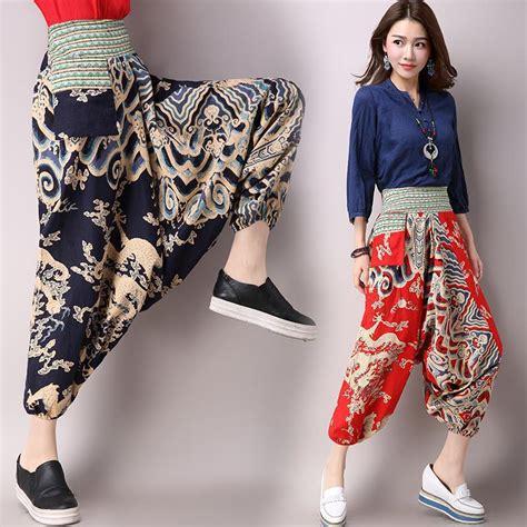 Celana Kulot Batik Tribal Panjang Aladin 13 model celana panjang wanita yang lagi trend modis