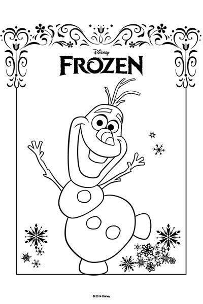 Disney Colouring Pages Frozen L