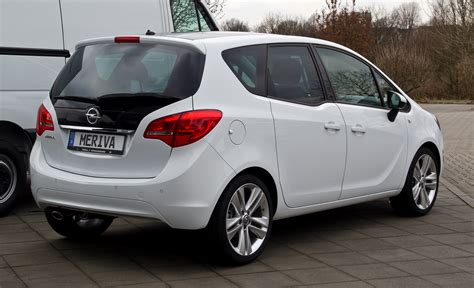 opel meriva 2015 2015 opel meriva b pictures information and specs