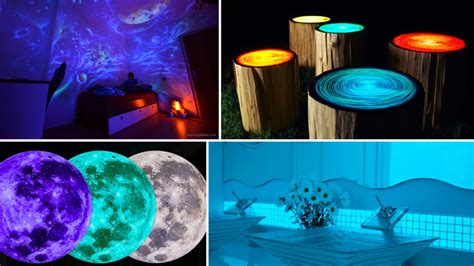 glow in the dark home decor glow in the dark home decor ideas to light up your life