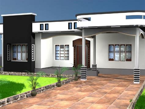windows model for house one storey house residential property max 3ds max software architecture objects