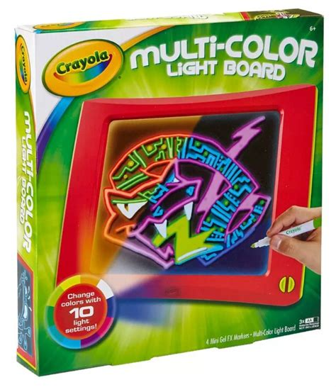 crayola light up board crayola multi colour light board toy at mighty ape