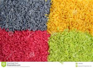 rice colors multi color rice royalty free stock photos image 14856868