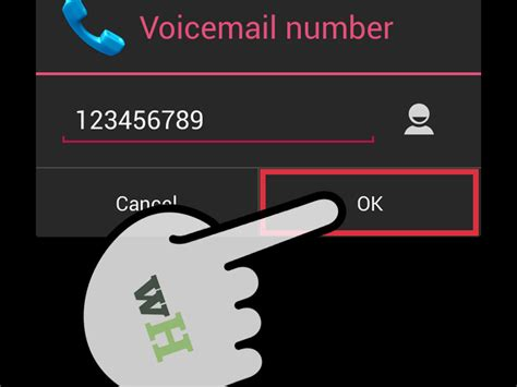 how to set up voicemail on android phone how to set up the voicemail on zte avid 5 steps with pictures