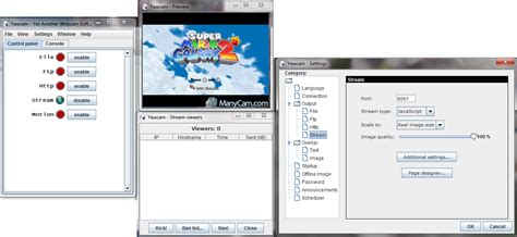 Video Tutorial Yawcam | tutorial how to stream wii games to your android device