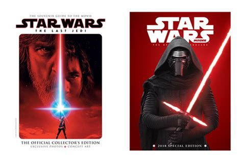 wars the last jedi the official collector s edition books wars insider 2018 special edition the last jedi