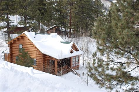 Log Cabin In The Snow by Log Cabin In The Snow Picture Of Rapp Corral Durango