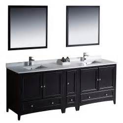 fresca oxford 84 quot traditional sink bathroom vanity