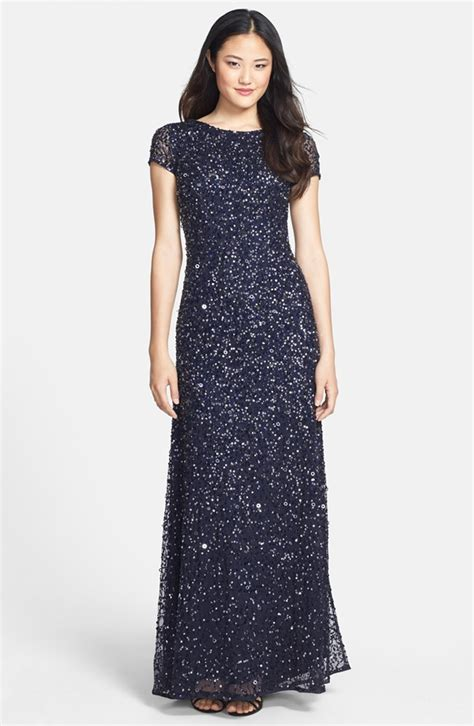 blue beaded gown navy blue beaded dress for a wedding