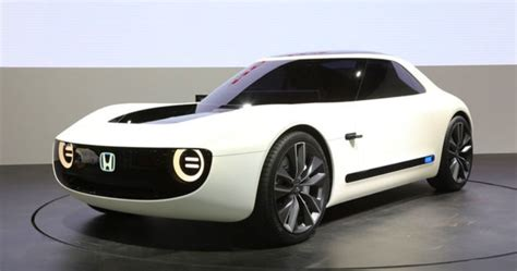2019 honda electric car 2019 honda sports ev concept a retro modern futuristic