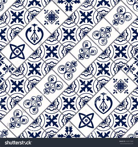 moroccan tile template vector moroccan tile seamless pattern design stock vector