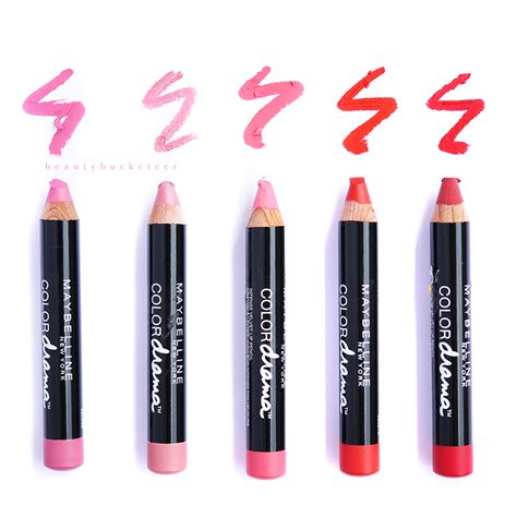 Lip Liner Maybelline bucketeer maybelline color drama velvet