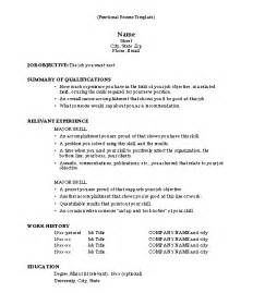 resume template example functional resume template free sample resume template cover letter and resume writing tips