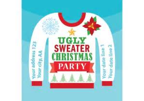 Ugly christmas sweater card download free vector art stock graphics