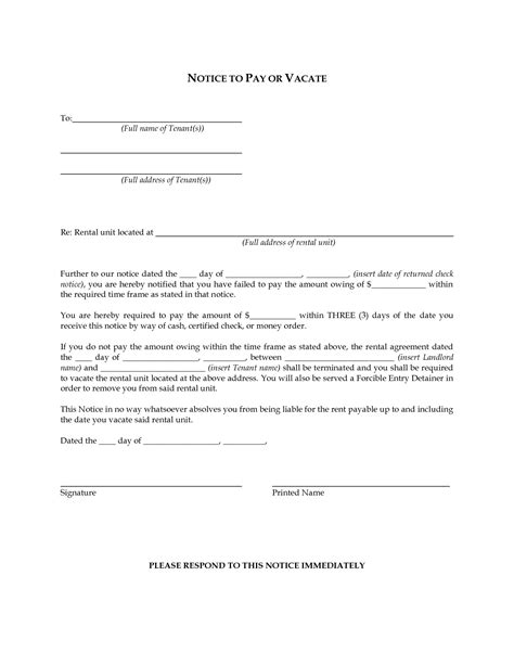 printable eviction notice ohio best photos of blank eviction notice eviction notice