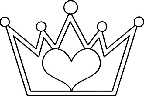 coloring page of a crown for a king princess tiara coloring pages coloring home