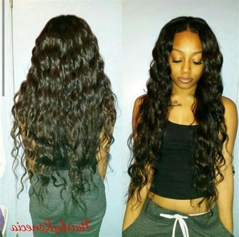 images of the latest weave on hair for the year 2015 2018 latest wavy long weave hairstyles