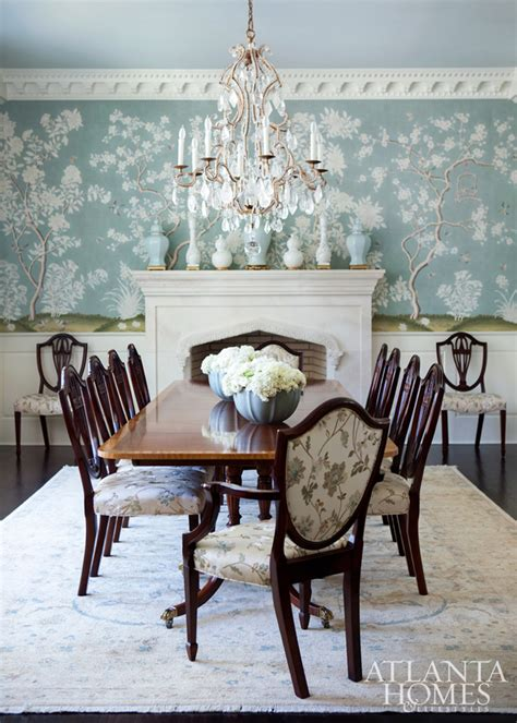 Chinoiserie Dining Room | chinoiserie chic the chinoiserie dining room