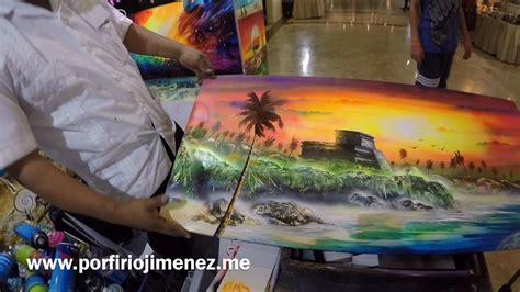 spray paint jimenez spray paint tulum riviera