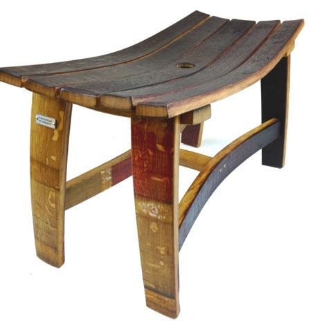 wine bench wine barrel bench hungarian workshop