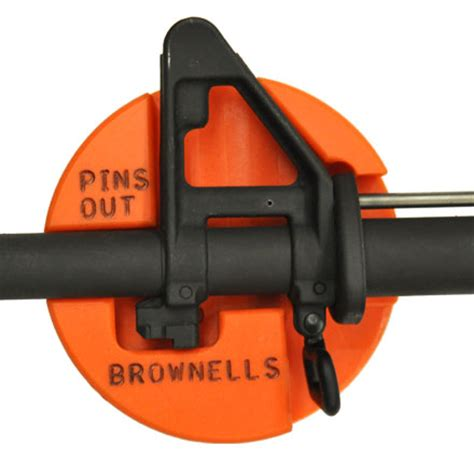 ar 15/m16 front sight bench block by brownells