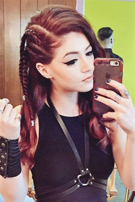 chrissy lkin hair chrissy lkin braids chrissy costanza straight burgundy