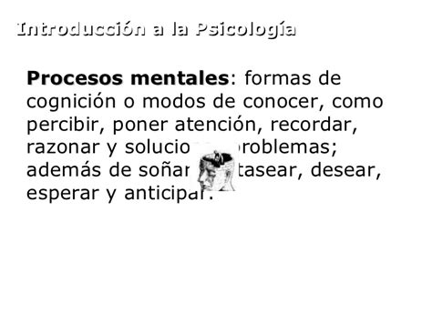 definicion imagenes mentales psicologia historia de la psicologia