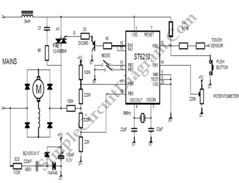universal motor circuit diagram motor circuit page 15 automation circuits next gr