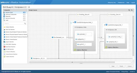 create a blueprint online vrealize automation 7 0 spotlight innovations overview