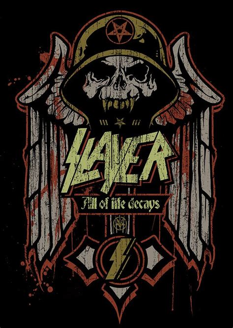 Slayer Rock Band Heavy Metal - slayer angryblue new and search