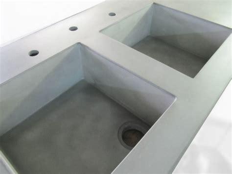 evier beton 201 vier b 233 ton int 233 gr 233 au plan de travail en b 233 ton balian