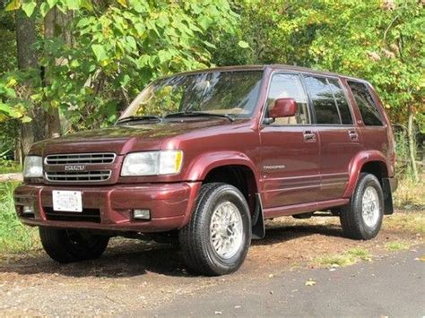 how do cars engines work 2001 isuzu trooper engine control sell used 2001 isuzu trooper ls 4x4 in staten island new york united states for us 6 400 00