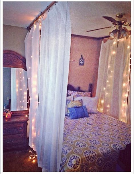 diy ceiling mounted bed canopy i made using pvc pipe
