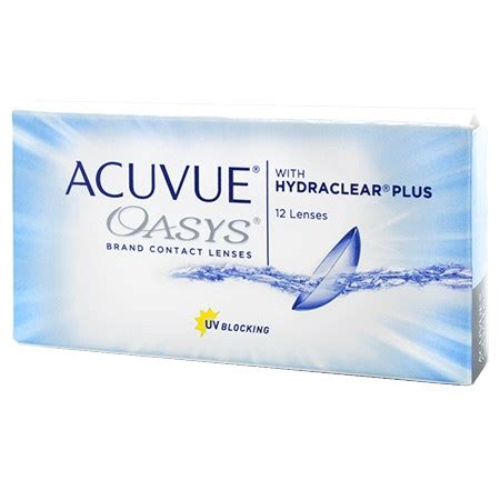 acuvue oasys 2 week 12 pack contact lenses by johnson